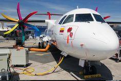 Atr 42, Plane Photos, Passenger Aircraft, Air Lines, Aircraft Pictures, Airports, Tilt, Planes, Sky