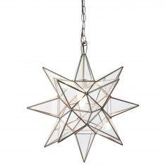 Clear Star Chandelier