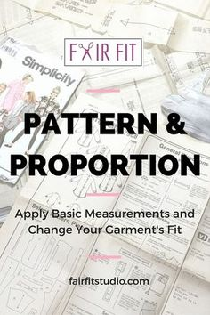 How to work with sewing patterns