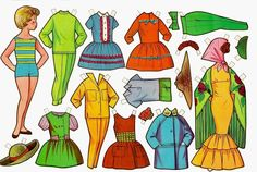 muñecas recortables, paper dolls, Бумажные куклы , bambole da carta, poupées en papier, 纸娃娃 ,: 1- EVAS Reference Paper, Photo Reference, David Wolfe, Sunday School Crafts, Vintage Paper Dolls, Pattern Fashion, Paper Cutting, Doll Clothes, Crafts For Kids