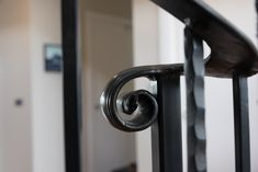 Stair Details by Adrienne and Hamish Dodd Stair Detail, Door Handles, Stairs, Interior Design, Home Decor, Nest Design, Stairway, Decoration Home, Staircases