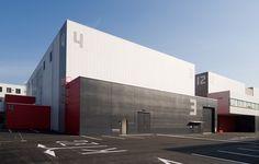 Toho Stages Parque Industrial, Industrial Park, Industrial Architecture, Gymnasium Architecture, Factory Architecture, Architecture Design, Warehouse Design, Studio Build, Metal Canopy