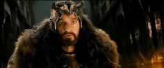 "Thorin battles dragon sickness. ""I am not my grandfather."""