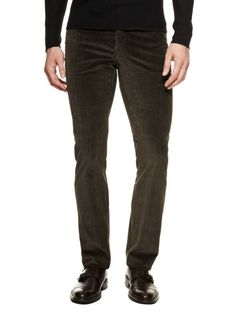 Brushed Slim-Fit Pants by John Varvatos Collection on Gilt.com #GiftMe