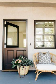 Stunning Beach House Remodel in California Home Remodeling Diy, Basement Remodeling, Home Renovation, Basement Decorating, Door Decorating, Basement Ideas, Home Interior, Interior And Exterior, Exterior Design