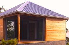 40m2 Recycled teak bungalow