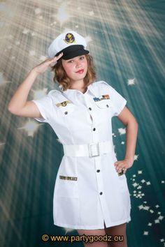 Sexy kapitein vrouw Vrouwen kostuums koop online @ lasfiestas.be, de goedkoopste carnaval en feestwinkel.