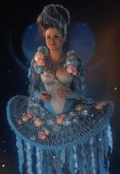 """Keegan Connor Tracy as """"the Blue Fairy"""" - """"Once Upon a Time"""" (TV 2011- ...)"""