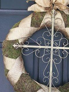 http://fashionpin1.blogspot.com - Easter wreath