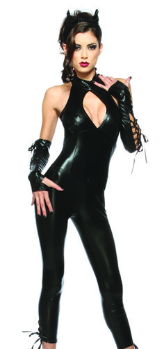 Homemade Superhero Costumes for Women | Sexy Womens Black Cat Superhero Woman Fancy Dress Halloween Costume ...