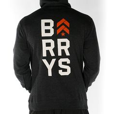 Men's Fall 2014 Pullover Hoodie w/ Stacked Barry's www.barrysbootcamp.com #fitness #fitnessapparel #workoutclothes