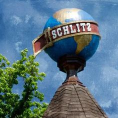 """Item Description: Original Photograph, by Joan Schulte, entitled, """"Schlitz."""" This photo, which was made in Milwaukee, Wisconsin, features the iconic sign of """"The beer that made Milwaukee famous!"""" I would feel remiss if I didn't also mention their famous slogan, """"When you're out of Schlitz, you're out of beer!"""" Since Schlitz was the largest producer of beer in 1902, it would only seem natural that this photo be on display in the home of a true beer lover! After Joan takes the photo, the image Milwaukee Road, Milwaukee Wisconsin, Beer Pictures, Beer Pics, Print My Photos, Famous Slogans, Schlitz Beer, Photo Transfer, Selling On Pinterest"""