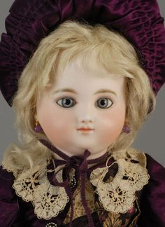 Early and rare Jules Steiner French Antique Bebe Doll.