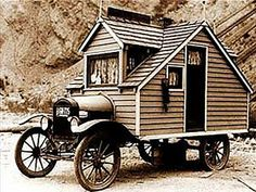 1920's house on wheels!