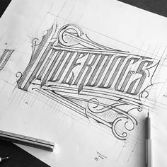 Amazing work by Tomasz Biernat. Follow us @typegang | typegang.com #typegang #typography