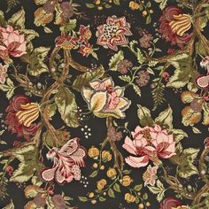 Love this fabric...these are the drapes in my LR...