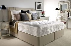 nvesting in a good night's sleep is one of the best decisions you'll ever make.  Restful sleep is a precious commodity, bringing a raft of benefits to your health and wellbeing, from boosting your immune system and promoting brain function to relieving stress.  Tailored to your personal sleeping preferences and hand built to your specifications by our master bed builders, a Harrison mattress is designed to give you the best sleep of your life.