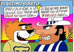 CARICATURISTA PACOTE: PUMAS VS. RAYADOS