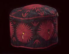 ♥Karakhalpak silk embroidered hat