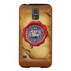 SEAL OF THE KNIGHTS TEMPLAR wax parchment Case For Galaxy S5