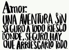El amor... #frase #espanol