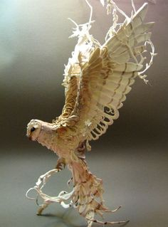 ^^ wow.. hand sculpted one of a kind spirit creatures... by ellen jewett