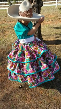 Mexican Costume, Mexican Outfit, Mexican Dresses, Traditional Mexican Dress, Traditional Dresses, Little Girl Dresses, Girls Dresses, Vestido Charro, Mexican Babies