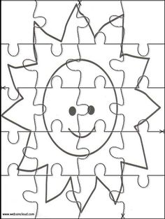 Printable Jigsaw Puzzles To Cut Out For Kids Space 37 Coloring Pages
