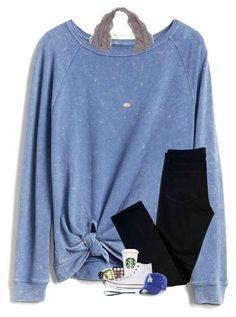 """""""the body tag~"""" by sanddollars ❤ liked on Polyvore featuring Gap, Morphe, J Brand, Converse, '47 Brand and Kendra Scott #dressescasual"""