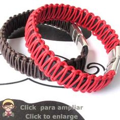 Video Tutorial Pulsera de Cuero con Macramé. - Pulsa en el Video para ver el tutorial
