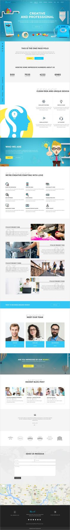 Mavel is a wonderful responsive #Joomla template for #webdesign one page stunning #agency website with 6 unique homepage layouts download now➩  https://themeforest.net/item/marvel-best-onepage-joomla-template-with-quix-pagebuilder/18921436?ref=Datasata