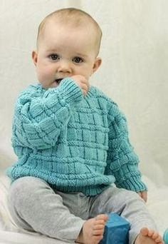 Child Knitting Patterns Daniel's Pullover Free Child Knitting Sample Baby Knitting Patterns Supply : Daniel's Pullover Free Baby Knitting Pattern. Boys Knitting Patterns Free, Baby Sweater Patterns, Baby Cardigan Knitting Pattern, Knitting For Kids, Baby Patterns, Free Knitting, Crochet Jumper, Knitting Ideas, Sewing Patterns