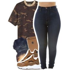 A fashion look from December 2015 featuring adidas Originals t-shirts ve NIKE shoes. Browse and shop related looks.