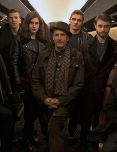 cast of the the movie  Now you see me second act