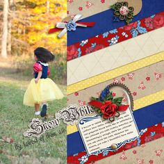 Snow White by mlewis at the Lilypad #disneyscrapbooking