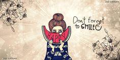 เรียนภาษาอังกฤษ ความรู้ภาษาอังกฤษ ทำอย่างไรให้เก่งอังกฤษ Lingo Think in English!! :): Don't Forget to Smile อย่าลืม! ยิ้มรับวันใหม่นะคะ
