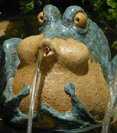 Philippe Ongena - Fontaines d'extérieur en céramique