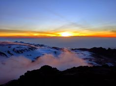 Our #Kilimanjaro #picoftheday!  Like if you've summited Kili Comment if it's on your #bucketlist Repin the beauty of the Africa  #Travel #TTOT #Climbing #Trekking #Adventure #Mountain #Tanzania