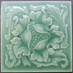 We can re-created these antique Art Nouveau, Art Deco and Victorian relief ceramic tiles for you. You get the three dimensional look of the original collector relief tiles but on a flat smooth surface satin finish tile. Victorian Tiles, Antique Tiles, Antique Art, Vintage Tile, Art Nouveau Tiles, Art Nouveau Design, Vintage Pottery, Pottery Art, Ceramic Tile Art