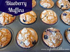 The Aspiring Home Cook: SRC: Blueberry Muffins