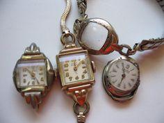 nonworking, but so gorgeous.  Antique Vintage Ladies Watch  Etsy.