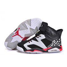 d29510b270c Air Jordan 6 Speckle Black Whtie Red