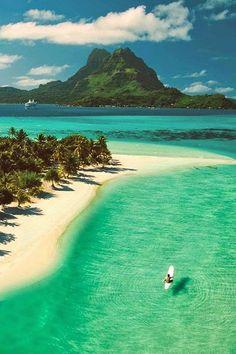 Bora Bora Islands, I could use a vacay right now!