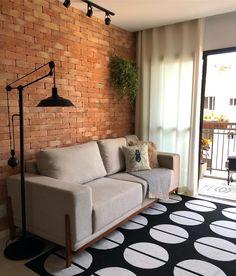 Parede de tijolinho: 60 inspirações + dicas de como fazer Interior Design Inspiration, Home Interior Design, Interior Architecture, Living Room Decor, Bedroom Decor, Brick Interior, Industrial Home Design, Minimal Bedroom, Lets Stay Home