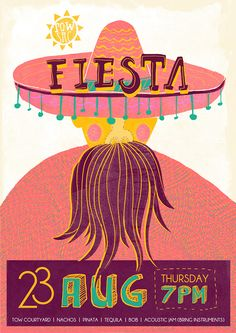 POSTER: MEXICAN FIESTA on Behance