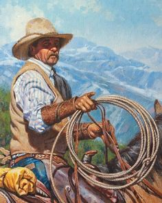 Trail Boss by Steve Atkinson Oil ~ 20 x 16