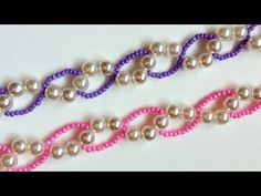 Beaded Bracelets Pattern. - YouTube