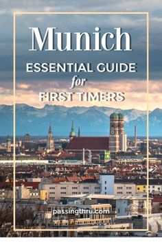 Essential Munich First Timers Guide: book the best daytrips from Munich and focus on city sightseeing. Munich gives visitors a total Bavarian experience! Visit Munich, Visit Germany, Munich Germany, Germany Travel, Travel Tips For Europe, Travel Guide, Budget Travel, Travel Destinations, European Vacation