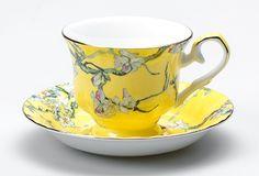 whimsey tea sets   Yunnan Cup & Saucer Yellow   T2 Tea