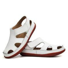 Unisex Children Soft Sandals Simple Loop Hollow Flat Shoes